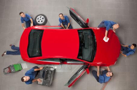 Nowa metoda lakierowania nadwozi Audi